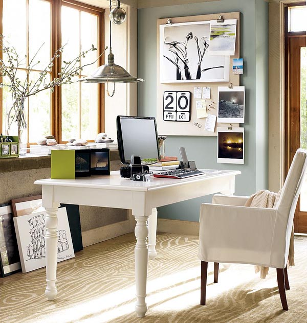 Home Inspiration: A Little Home Office Inspiration