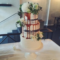 Our gorgeous wedding cake baked by Caked Out, a talented baker based in Adelaide South Australia.